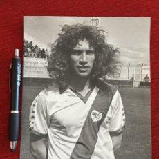 Coleccionismo deportivo: F12908 FOTO FOTOGRAFIA ORIGINAL DE PRENSA REAL MADRID RAYO VALLECANO LOPEZ. Lote 235477505