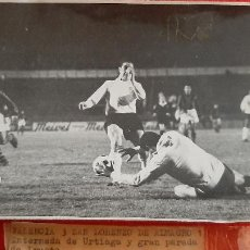 Coleccionismo deportivo: FOTO FUTBOL VALENCIA CF 3 SAN LORENZO DE ALMAGRO 1 1963 ORIGINAL FF8. Lote 236200770