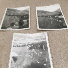 Coleccionismo deportivo: ANTIGUAS FOTOGRAFIAS DEL CAMPEONATO DE CICLO--CROSS....TOLOSA...1960... Lote 236716995