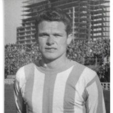 Coleccionismo deportivo: REAL VALLADOLID: FOTOCROMO DE MOLINA. 1963. Lote 236929620