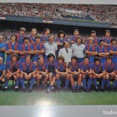 Coleccionismo deportivo: FOTOGRFIA ORIGINAL PLANTILLA F.C.BARCELONA TEMPORADA 1982-83 CON MARADONA 25,50 X 15,50. Lote 236941455