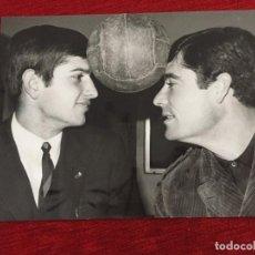 Coleccionismo deportivo: F13497 FOTO FOTOGRAFIA ORIGINAL DE PRENSA REAL MADRID (9-1-1968) MIGUEL PEREZ MANOLIN BUENO. Lote 237526395