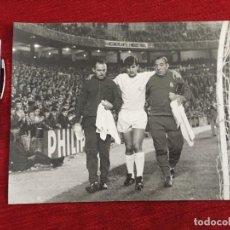 Coleccionismo deportivo: F13503 FOTO FOTOGRAFIA ORIGINAL DE PRENSA REAL MADRID MIGUEL PEREZ (18-9-1968). Lote 237527005