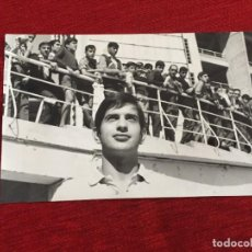 Coleccionismo deportivo: F13505 FOTO FOTOGRAFIA ORIGINAL DE PRENSA REAL MADRID MIGUEL PEREZ (16-9-1967). Lote 237527230