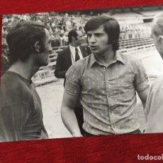 Coleccionismo deportivo: F13517 FOTO FOTOGRAFIA ORIGINAL DE PRENSA REAL MADRID MIGUEL PEREZ PIRRI (8-9-1972) JOSE LEGIDO. Lote 237532390