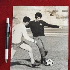 Coleccionismo deportivo: F13519 FOTO FOTOGRAFIA ORIGINAL DE PRENSA REAL MADRID MIGUEL PEREZ (22-1-1971). Lote 237532615