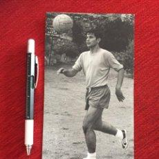 Coleccionismo deportivo: R11645 FOTO FOTOGRAFIA ORIGINAL DE PRENSA MIGUEL PEREZ REAL MADRID ZARAGOZA RAYO VALLECANO. Lote 237543670