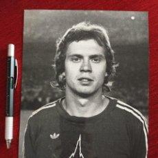 Coleccionismo deportivo: F13530 FOTO FOTOGRAFIA ORIGINAL DE PRENSA NORBERT JANZON BAYERN MUNCHEN MUNICH 1979. Lote 237555995