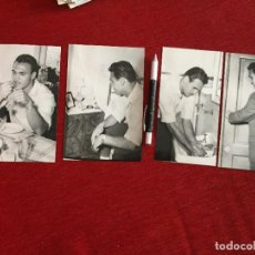 Coleccionismo deportivo: R11670 LOTE 4 FOTOS FOTOGRAFIAS ORIGINALES DE PRENSA ANTONIO PEDRERO RODRIGUEZ ATLETICO MADRID 1954. Lote 238299075