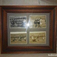 Coleccionismo deportivo: ANTIGUAS FOTOGRAFIAS PARTIDO F.C.BARCELONA-A.BILBAO - AÑO 1954 - KUBALA.. Lote 238739875