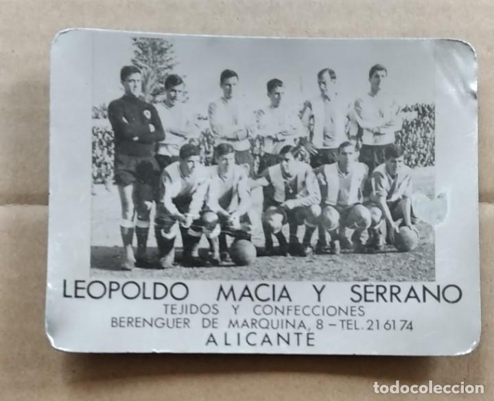 CENICERO FOTOGRAFÍA HÉRCULES CF TEMPORADA 65/66 CAMPO DE LA VIÑA ASCENSO (Coleccionismo Deportivo - Documentos - Fotografías de Deportes)