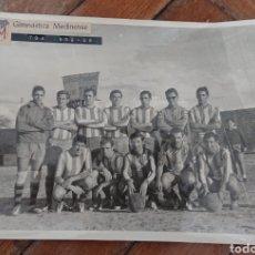 Coleccionismo deportivo: MEDINA DEL CAMPO VALLADOLID, GIMNÁSTICA MEDINENSE, FOTO ORIGINAL, DIFÍCIL, AÑOS 60. Lote 244646060