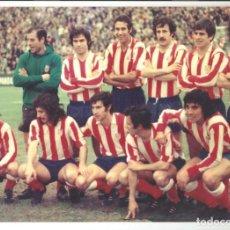 Coleccionismo deportivo: COPIA FOTO COLOR ALINEACION ATLETICO DE MADRID AÑOS 70 TAMAÑO 30 X 20 CM Nº12. Lote 244871060