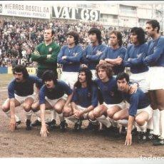 Coleccionismo deportivo: COPIA FOTO COLOR ALINEACION ATLETICO DE MADRID TEMPORADA 1976/77 TAMAÑO 30 X 20 CM Nº15. Lote 244893425