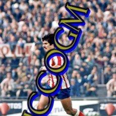 Coleccionismo deportivo: LEAL ATLETICO MADRID AT FOTOGRAFIA FUTBOL JUGADOR 10X15 CENTIMETROS BUENA CALIDAD. Lote 245478935