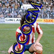 Coleccionismo deportivo: LEAL ATLETICO MADRID AT FOTOGRAFIA FUTBOL JUGADOR 10X15 CENTIMETROS BUENA CALIDAD. Lote 245478980