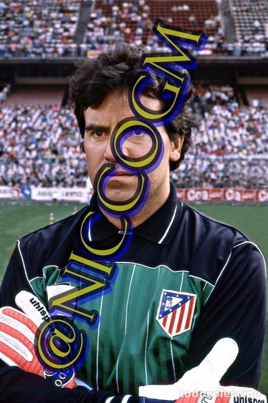 MEJIAS ATLETICO MADRID AT FOTOGRAFIA FUTBOL JUGADOR 10X15 CENTIMETROS BUENA CALIDAD (Coleccionismo Deportivo - Documentos - Fotografías de Deportes)