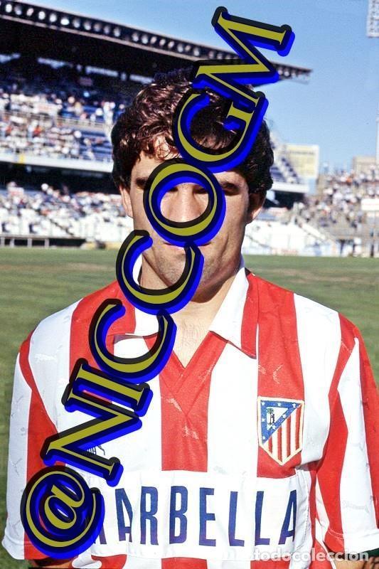 PEDRO ATLETICO MADRID AT FOTOGRAFIA FUTBOL JUGADOR 10X15 CENTIMETROS BUENA CALIDAD (Coleccionismo Deportivo - Documentos - Fotografías de Deportes)