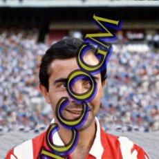Coleccionismo deportivo: PEDRO PABLO ATLETICO MADRID AT FOTOGRAFIA FUTBOL JUGADOR 10X15 CENTIMETROS BUENA CALIDAD. Lote 245479205