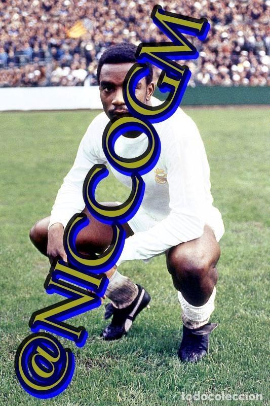CUNNIGHAM REAL MADRID FOTOGRAFIA FUTBOL JUGADOR 10X15 CENTIMETROS BUENA CALIDAD (Coleccionismo Deportivo - Documentos - Fotografías de Deportes)