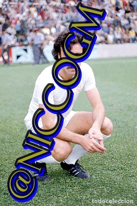 DEL BOSQUE REAL MADRID FOTOGRAFIA FUTBOL JUGADOR 10X15 CENTIMETROS BUENA CALIDAD (Coleccionismo Deportivo - Documentos - Fotografías de Deportes)
