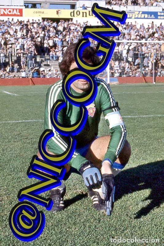 NIEVES REAL ZARAGOZA FOTOGRAFIA FUTBOL JUGADOR 10X15 CENTIMETROS BUENA CALIDAD (Coleccionismo Deportivo - Documentos - Fotografías de Deportes)