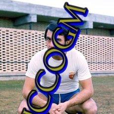 Coleccionismo deportivo: RUBIAL REAL ZARAGOZA FOTOGRAFIA FUTBOL JUGADOR 10X15 CENTIMETROS BUENA CALIDAD. Lote 245480230