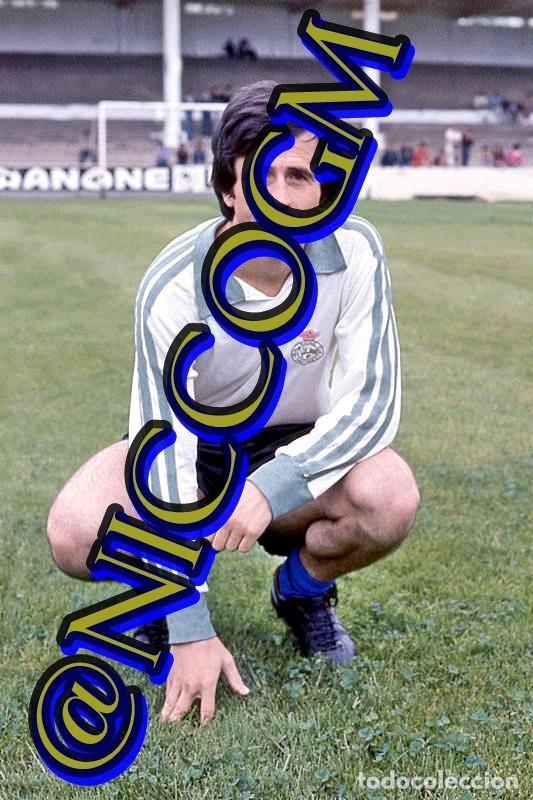 DIAZ RACING SANTANDER FOTOGRAFIA FUTBOL JUGADOR 10X15 CENTIMETROS BUENA CALIDAD (Coleccionismo Deportivo - Documentos - Fotografías de Deportes)