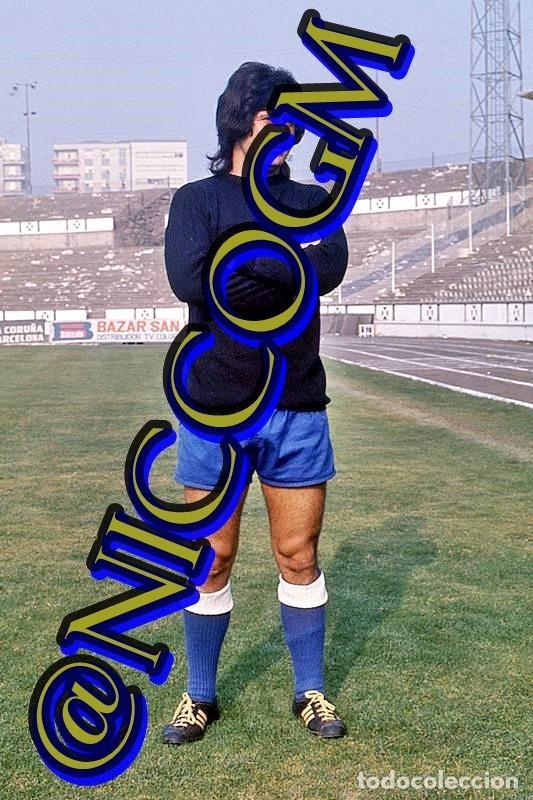 ANDRES DEPORTIVO CORUÑA FOTOGRAFIA FUTBOL JUGADOR 10X15 CENTIMETROS BUENA CALIDAD (Coleccionismo Deportivo - Documentos - Fotografías de Deportes)