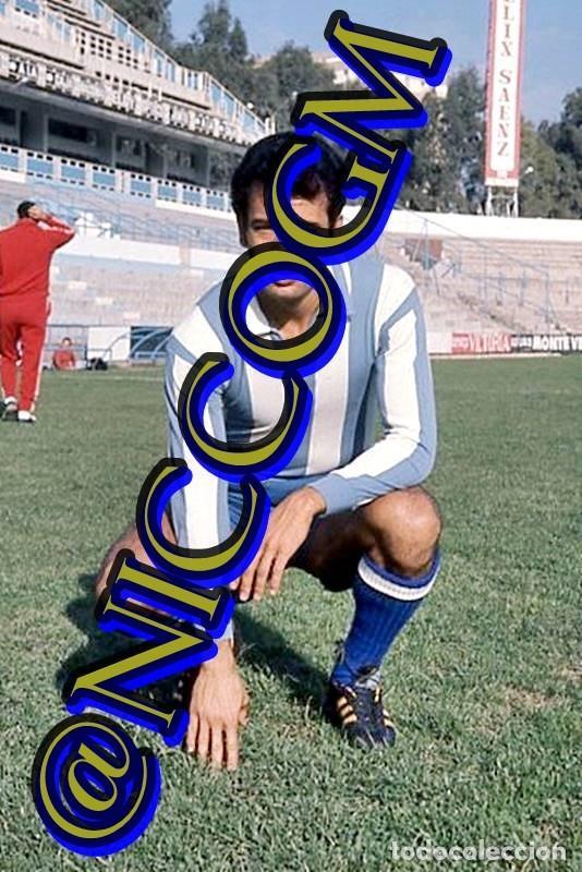 ARRAEZ MALAGA CF FOTOGRAFIA FUTBOL JUGADOR 10X15 CENTIMETROS BUENA CALIDAD (Coleccionismo Deportivo - Documentos - Fotografías de Deportes)