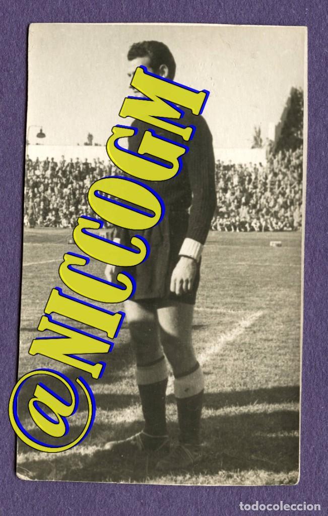 MARCEL DOMINGO ATLETICO AVIACION AT MADRID FUTBOL FOTOGRAFIA ORIGINAL EPOCA 8,50 X 5 (Coleccionismo Deportivo - Documentos - Fotografías de Deportes)