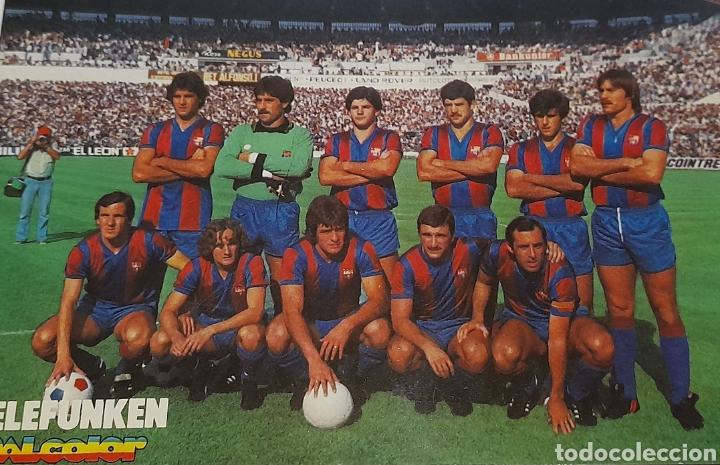 Coleccionismo deportivo: Foto Postal Antigua Plantilla F.C. BARCELONA. Ver fotos. - Foto 2 - 245975000
