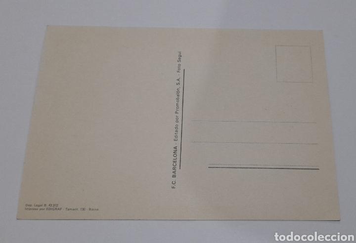 Coleccionismo deportivo: Foto Postal Antigua Plantilla F.C. BARCELONA. Ver fotos. - Foto 4 - 245975000