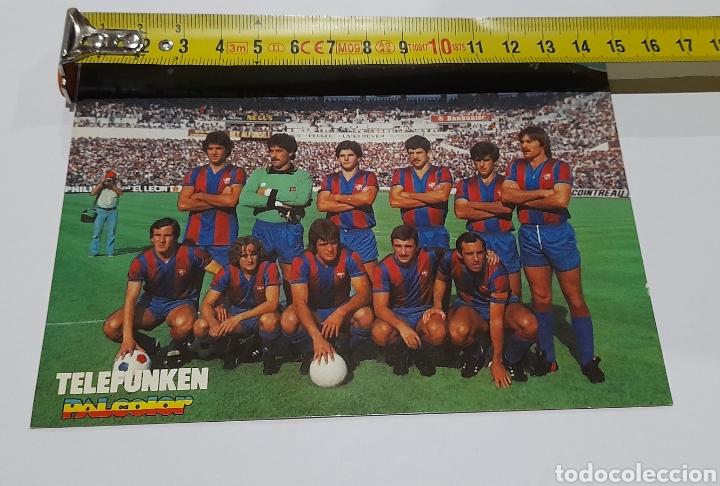 Coleccionismo deportivo: Foto Postal Antigua Plantilla F.C. BARCELONA. Ver fotos. - Foto 5 - 245975000