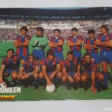 Coleccionismo deportivo: FOTO POSTAL ANTIGUA PLANTILLA F.C. BARCELONA. VER FOTOS.. Lote 245975000