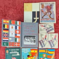Coleccionismo deportivo: X CAMPEONATO DEL MUNDO Y XX DE EURPA DE HOCKEY SOBRE PATINES. FOTOGRAFIAS. 1954.. Lote 252252800