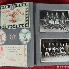 Coleccionismo deportivo: X CAMPEONATO DEL MUNDO Y XX DE EUROPA DE HOCKEY SOBRE PATINES. FOTOGRAFIAS. 1954.. Lote 253114530