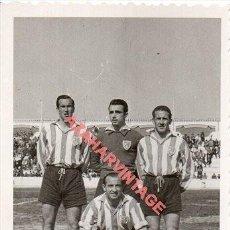 Coleccionismo deportivo: 1950, JUGADORES DEL ATLÉTICO DE TETUÁN. FOT.GARCIA CORTES, 60X85MM. Lote 254962635