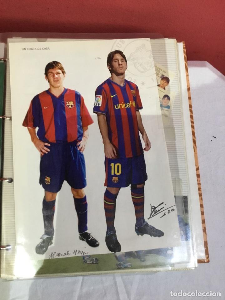 Coleccionismo deportivo: Messi . Album con mejores recortes de las revistas del futbolista Messi - Foto 2 - 256145705