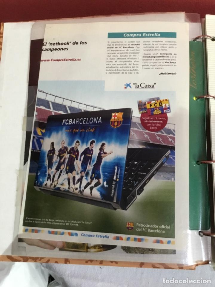 Coleccionismo deportivo: Messi . Album con mejores recortes de las revistas del futbolista Messi - Foto 6 - 256145705