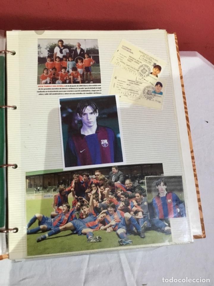 Coleccionismo deportivo: Messi . Album con mejores recortes de las revistas del futbolista Messi - Foto 7 - 256145705