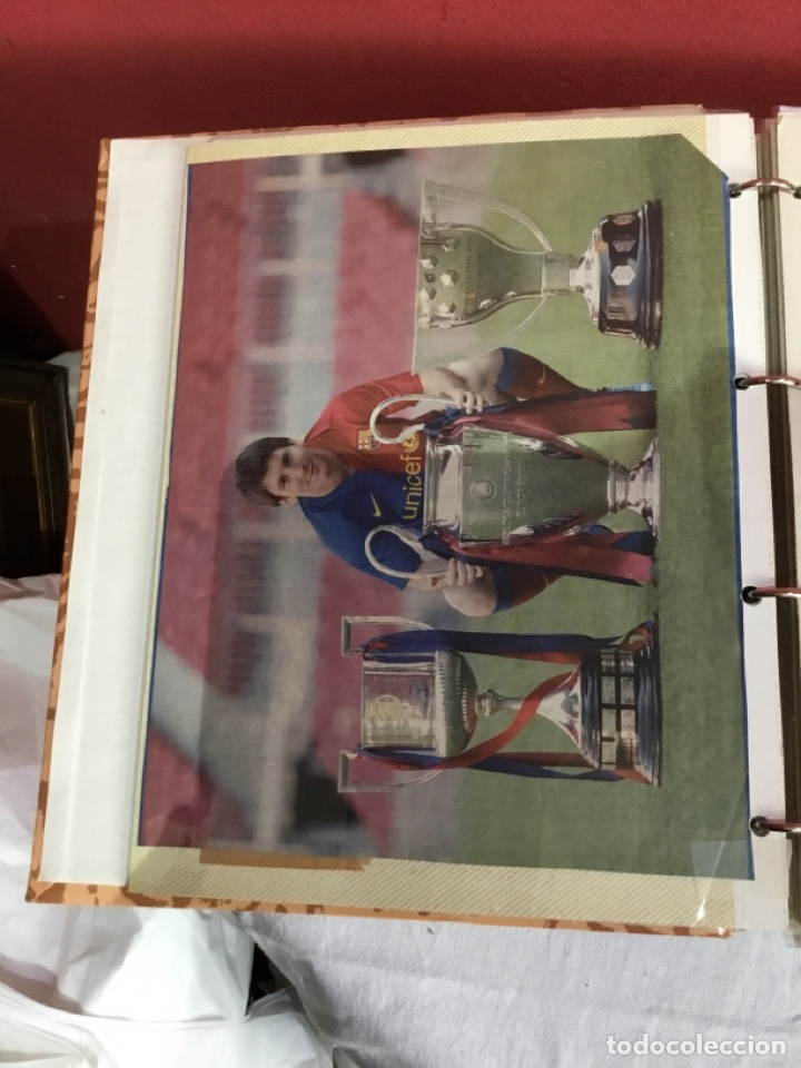 Coleccionismo deportivo: Messi . Album con mejores recortes de las revistas del futbolista Messi - Foto 8 - 256145705