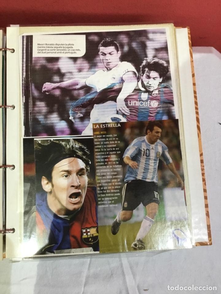 Coleccionismo deportivo: Messi . Album con mejores recortes de las revistas del futbolista Messi - Foto 11 - 256145705