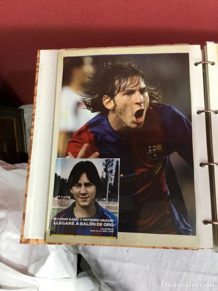 Coleccionismo deportivo: Messi . Album con mejores recortes de las revistas del futbolista Messi - Foto 12 - 256145705