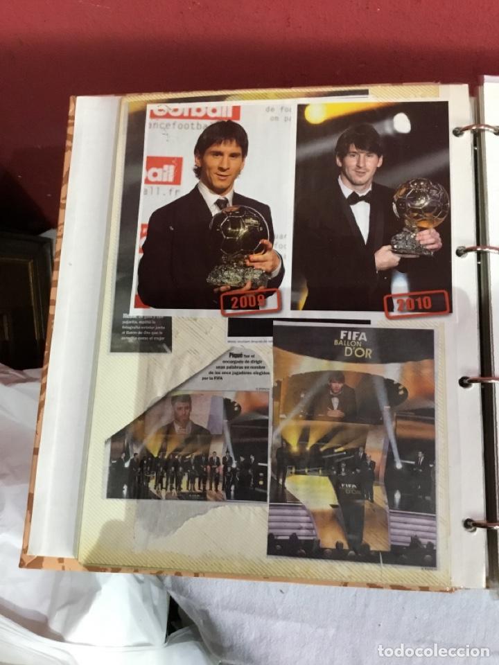 Coleccionismo deportivo: Messi . Album con mejores recortes de las revistas del futbolista Messi - Foto 14 - 256145705
