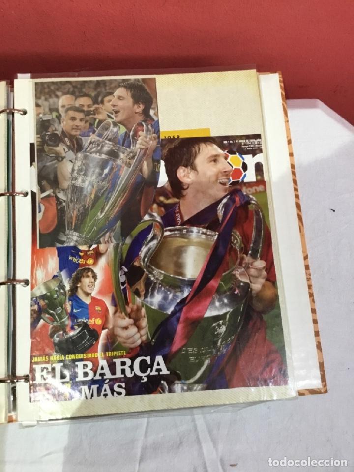 Coleccionismo deportivo: Messi . Album con mejores recortes de las revistas del futbolista Messi - Foto 15 - 256145705