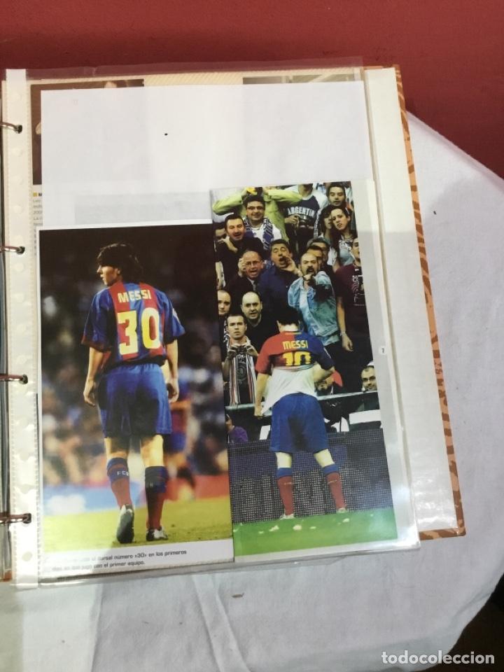 Coleccionismo deportivo: Messi . Album con mejores recortes de las revistas del futbolista Messi - Foto 18 - 256145705