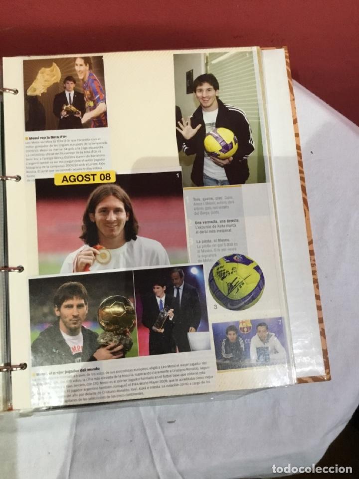 Coleccionismo deportivo: Messi . Album con mejores recortes de las revistas del futbolista Messi - Foto 20 - 256145705