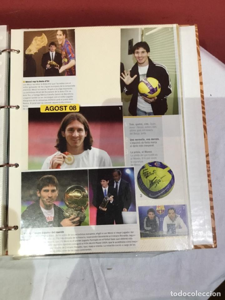 Coleccionismo deportivo: Messi . Album con mejores recortes de las revistas del futbolista Messi - Foto 21 - 256145705