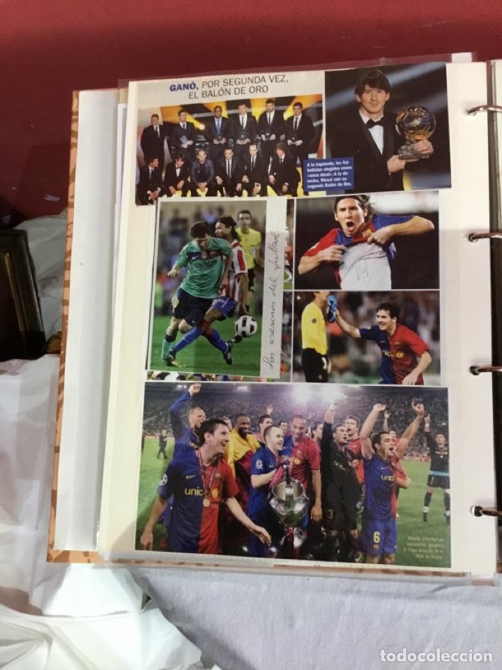 Coleccionismo deportivo: Messi . Album con mejores recortes de las revistas del futbolista Messi - Foto 22 - 256145705